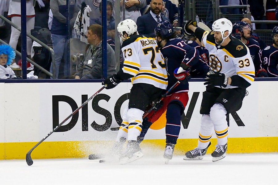 Bruins' Charlie McAvoy to have National Hockey League player safety hearing