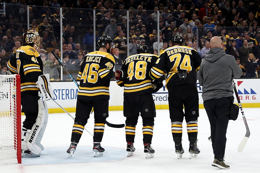 Boston Bruins: Oskar Sundqvist better be suspended
