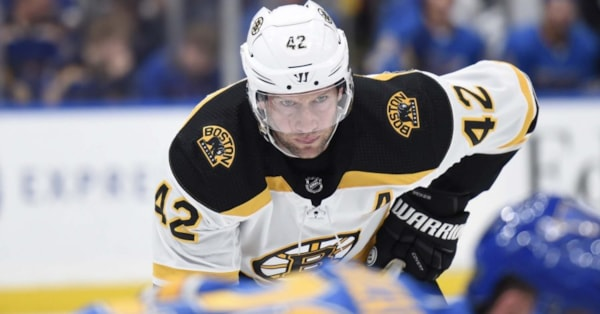 Report: Bruins 'unlikely' to buy out contract of forward David Backes