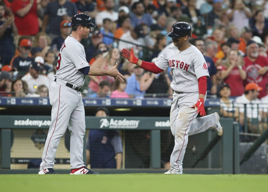 Red Sox top Astros 4-1 behind strong performance from Eduardo Rodriguez