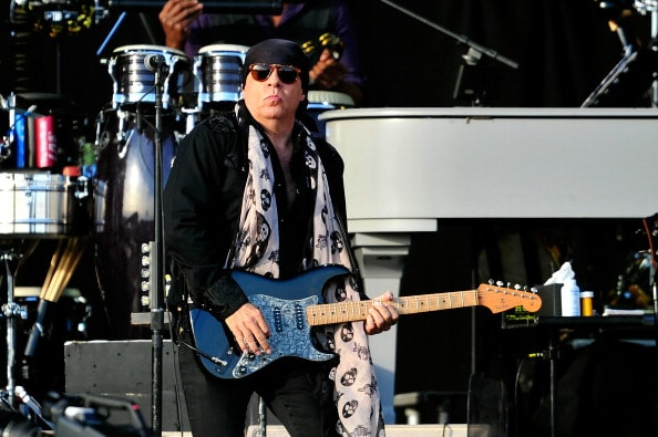 Steven Van Zandt's TeachRock project brings multimedia educational materials to teachers and students everywhere, and they do it at no cost. The lesson plan collections and resources at teachrock.org help teachers engage students by connecting the history of popular music to classroom work across the disciplines. From social studies and language arts to geography, media studies, science, general music, and more. Van Zandt also lets teachers come to his solo shows for free. Doors open early to teachers at 5:15  for snacks and networking, the workshops run from 6-7, before the doors open to the public.