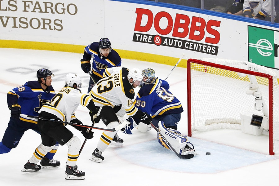 Final: Blues overpower Bruins 4-2 in Game 4, tie Stanley Cup