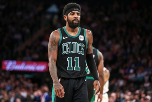 pretty nice 6e43b d9b69 Report: Kyrie Irving uncertainty limited Celtics' pursuit of ...