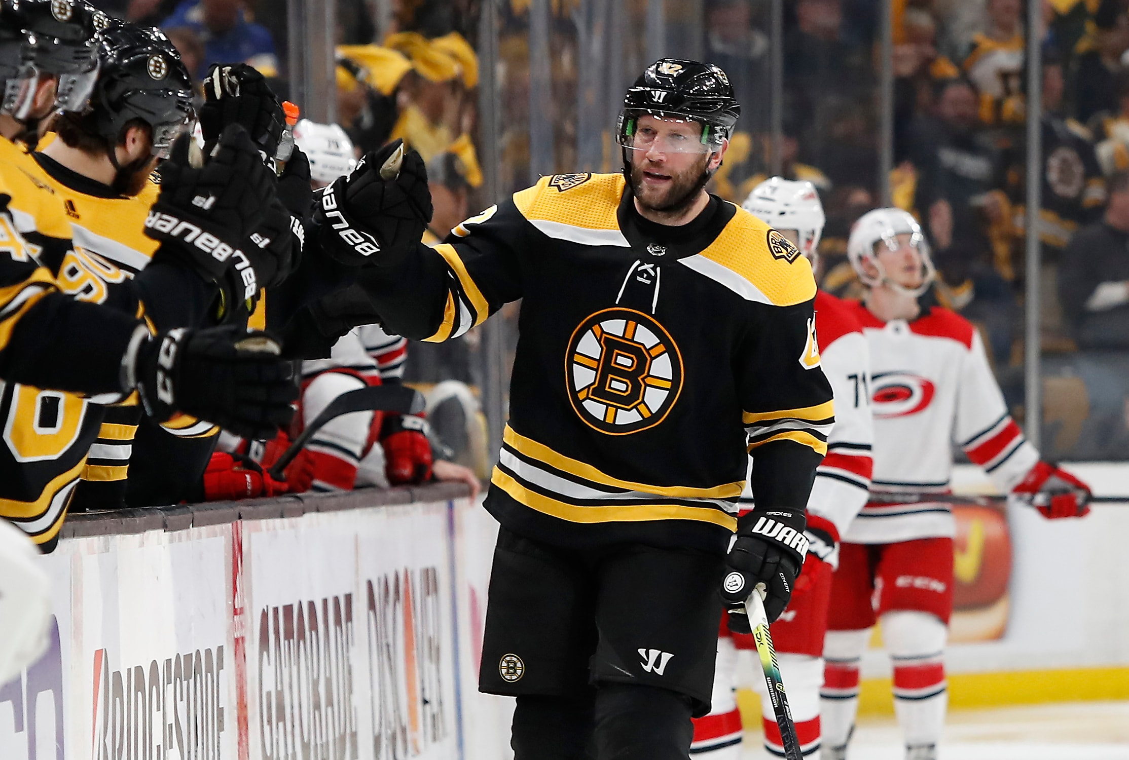 brand new 9fde7 686b8 Bruins have to find way to get out from under the David ...