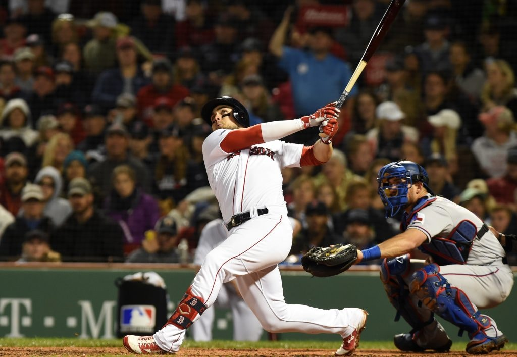 Red Sox erase 6-1 deficit, beat Rangers 7-6