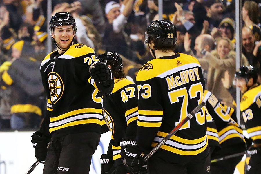 Bruins Sign Danton Heinen To Two-Year Extension