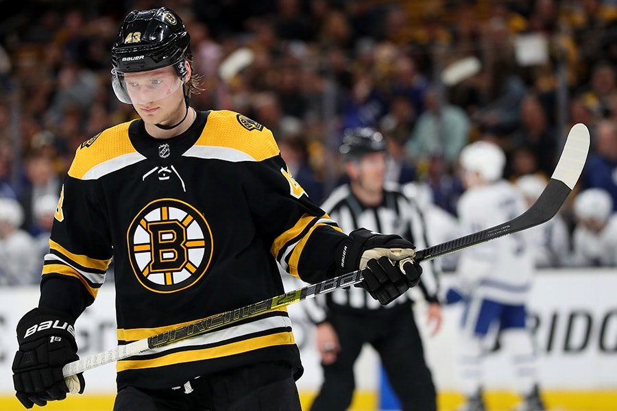 Bruins sign RFA winger Heinen to 2-year contract
