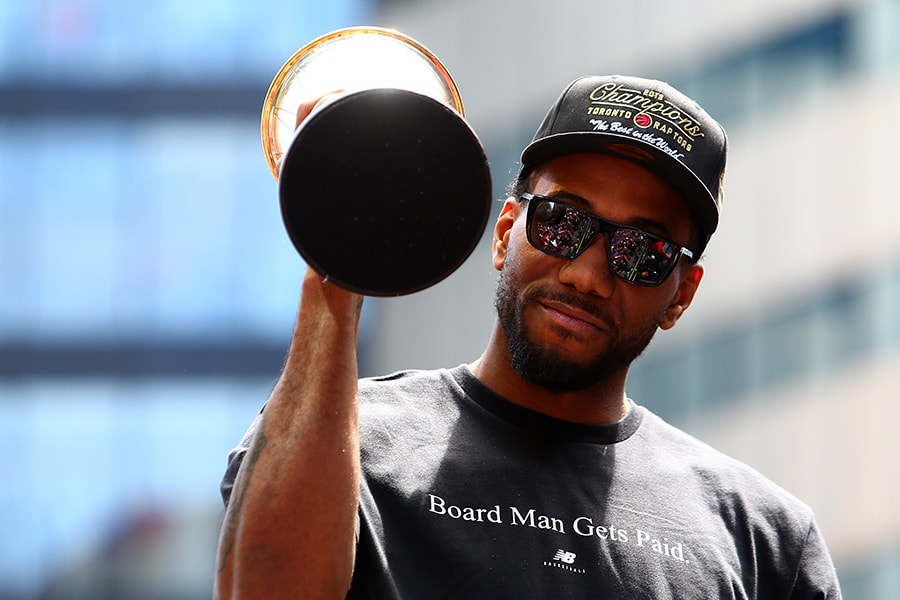 Interested teams have been warned not to leak Kawhi Leonard info