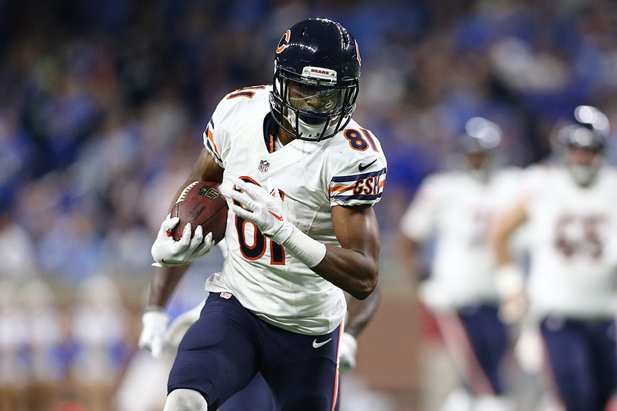 WR Cameron Meredith visits with Patriots
