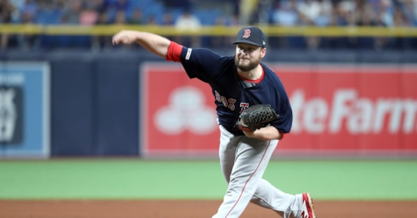 Reliever Ryan Brasier is back with the Red Sox
