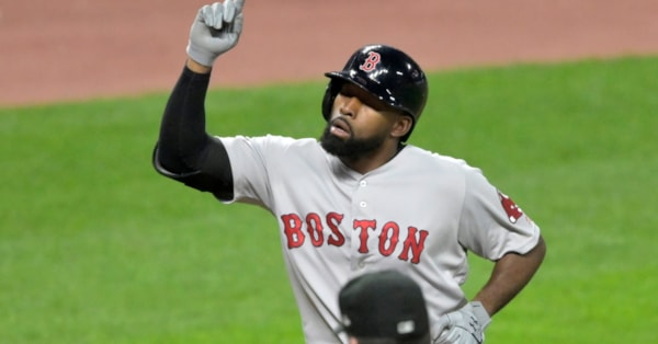 Red Sox survive latest blown save, outlast Indians 7-6 in 10