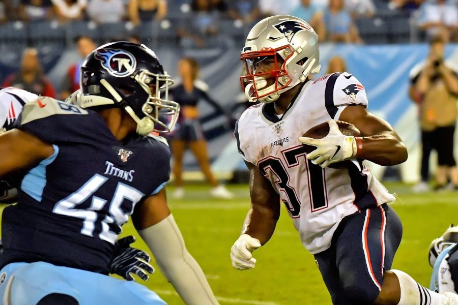 Damien Harris is a lock in our latest Patriots roster projection. (Jim Brown-USA TODAY Sports)