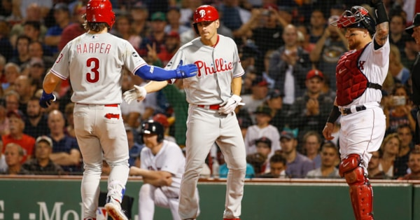 Red Sox swept by Phillies, lose 5-2
