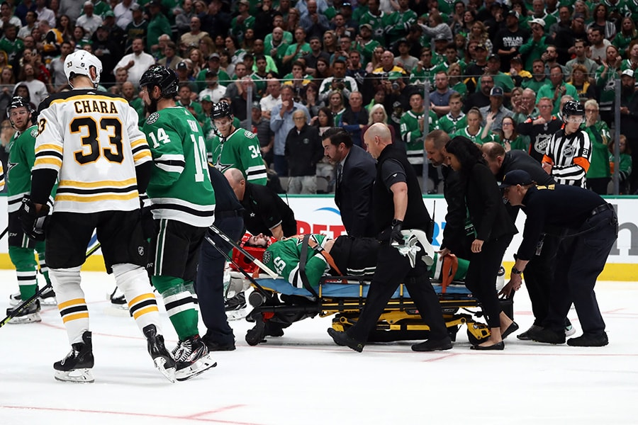NESN's Jack Edwards under fire for describing Roman Polak injury as 'bad hockey karma'