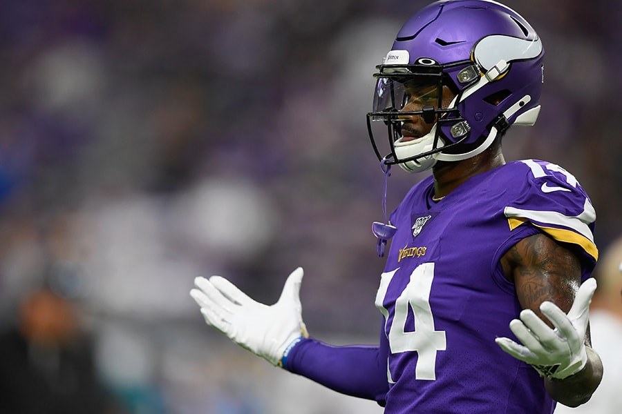 Vikings WR Diggs 'Trying to Work Through' Dissatisfaction