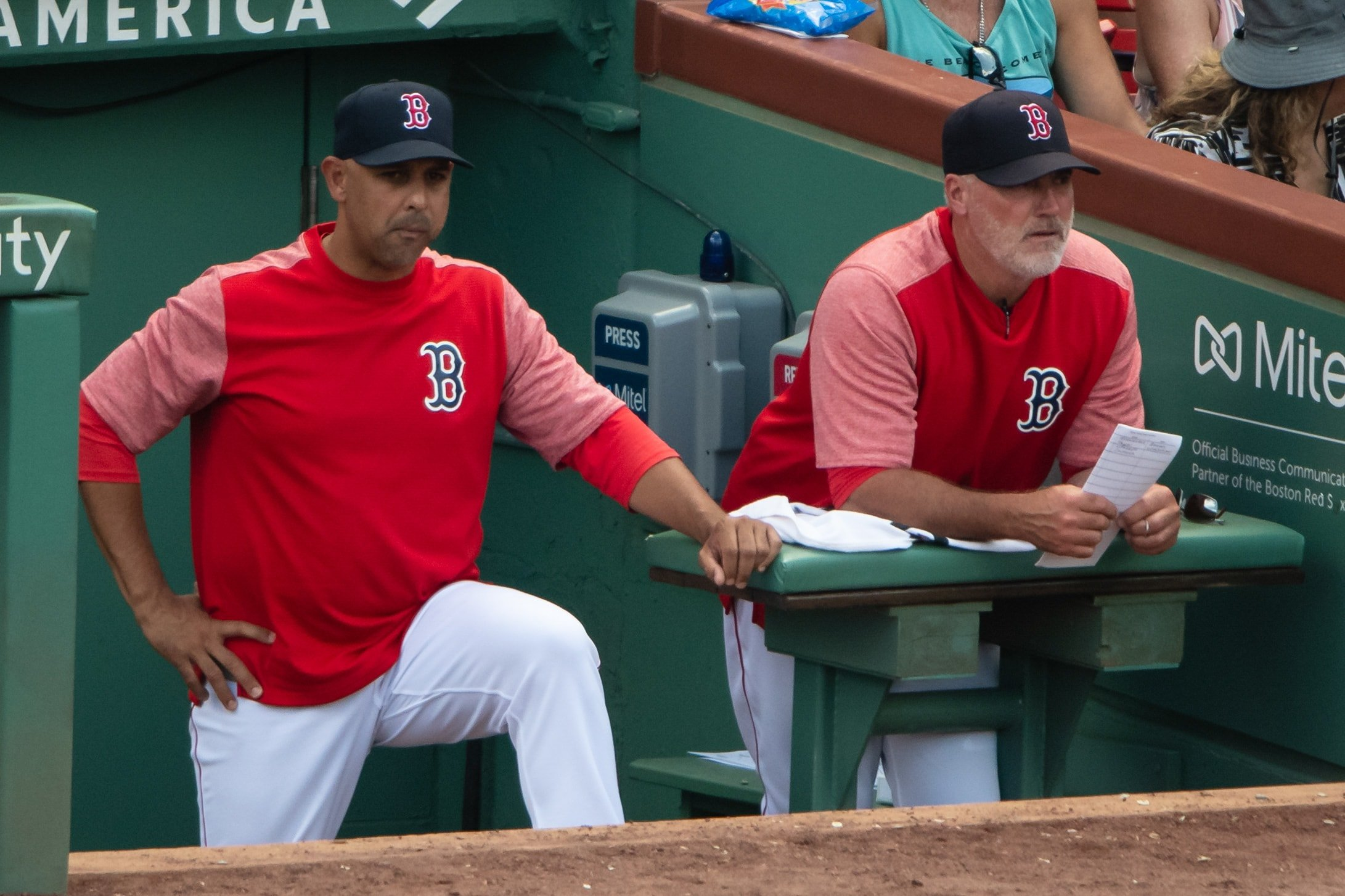 Red Sox Announce Coaching Staff Changes