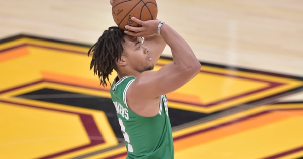 Celtics guard Carsen Edwards had a historically good third quarter vs. Cavaliers