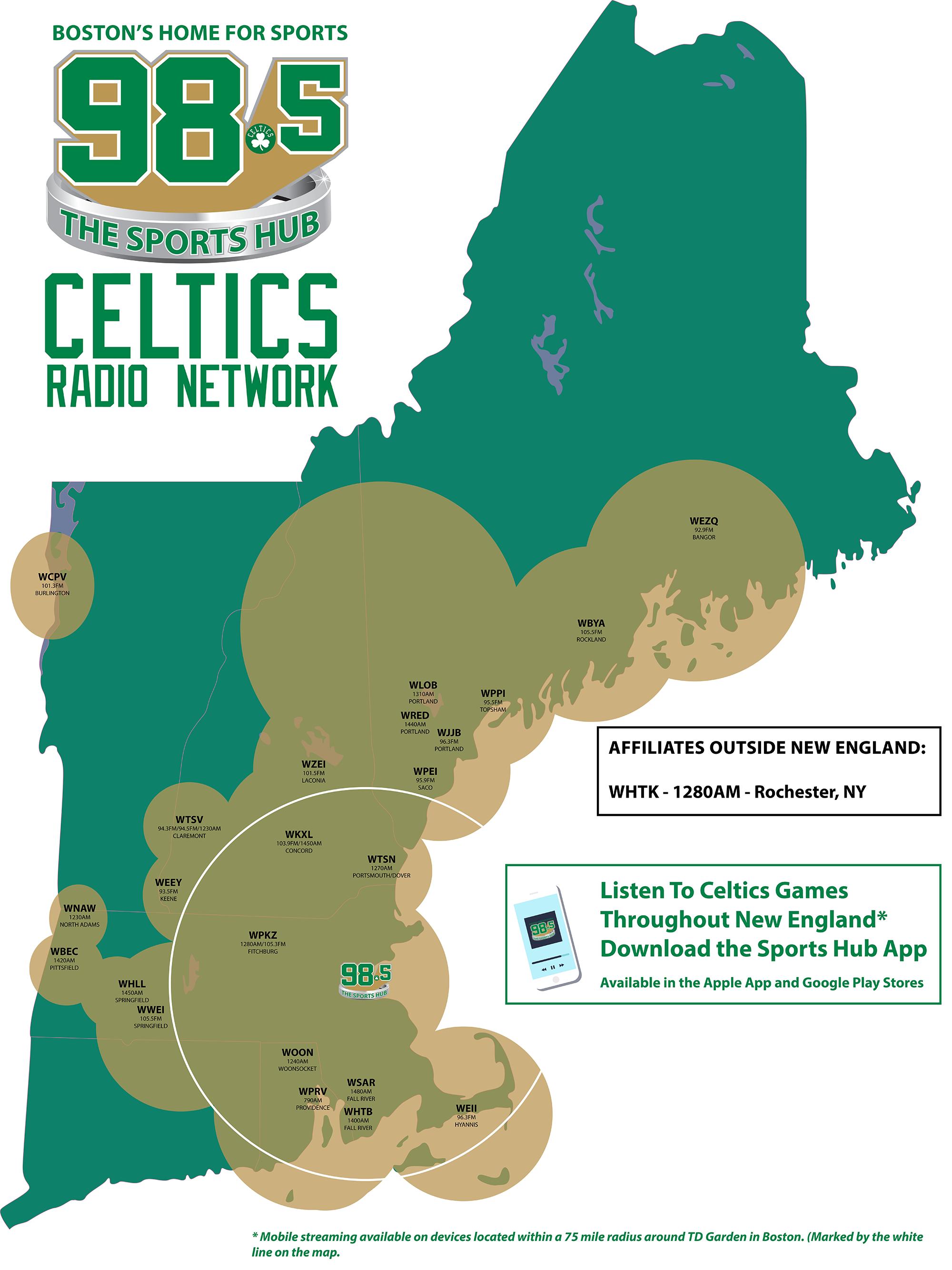 Boston Radio Stations >> Celtics Radio Network