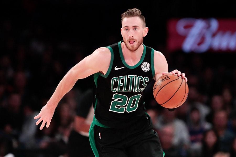 Celtics' Hayward ahead of schedule in recovery from broken hand