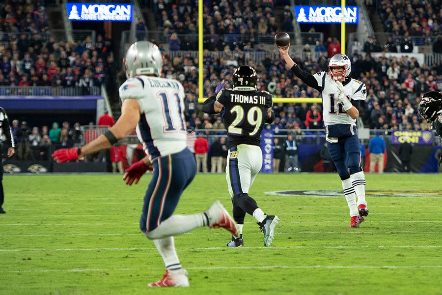 The Package Report: Patriots run same personnel grouping for entire game, go no-huddle-heavy in Baltimore