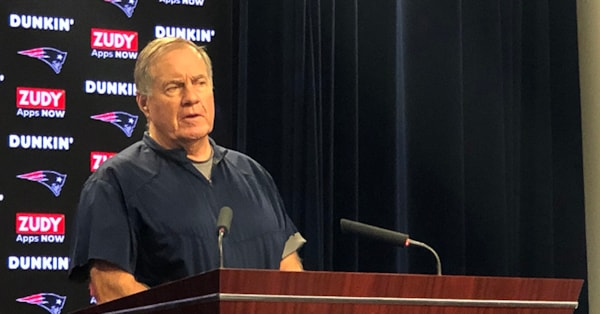 Belichick has strong reaction to questions on Bengals taping incident