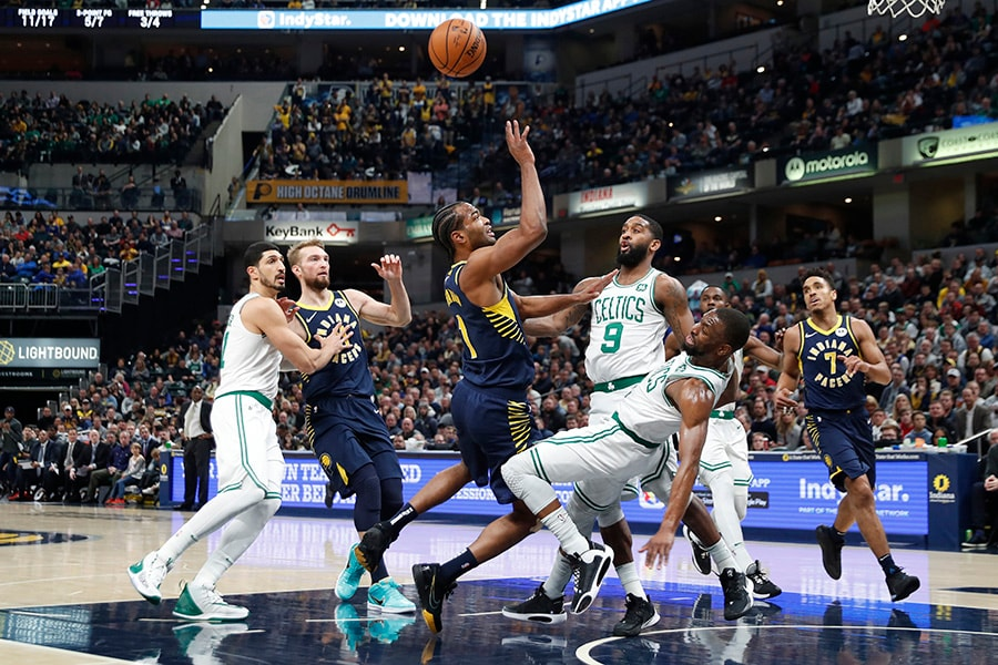 Kemba Walker scores 44 points, but Celtics falter in fourth in 122-117 loss to Pacers