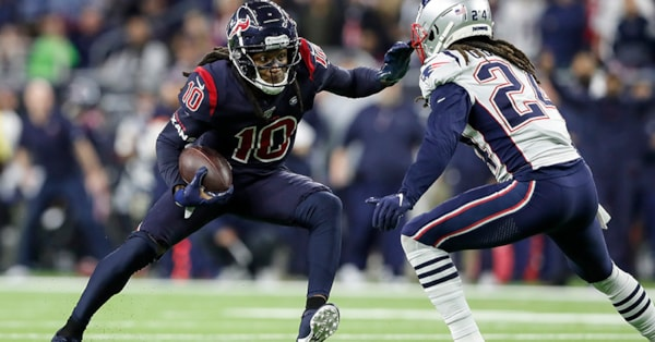 DeAndre Hopkins chirps Stephon Gilmore after average game vs. Patriots