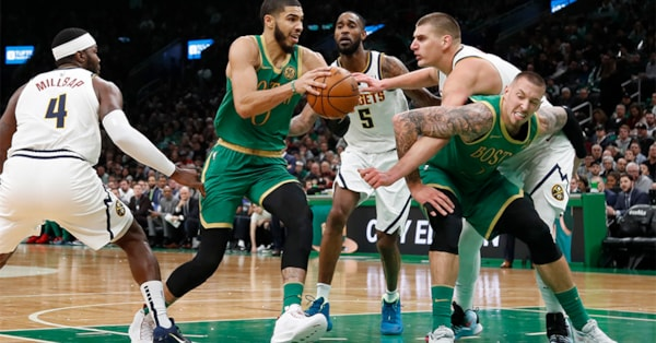 Celtics explode in third quarter, blow out Nuggets 108-95
