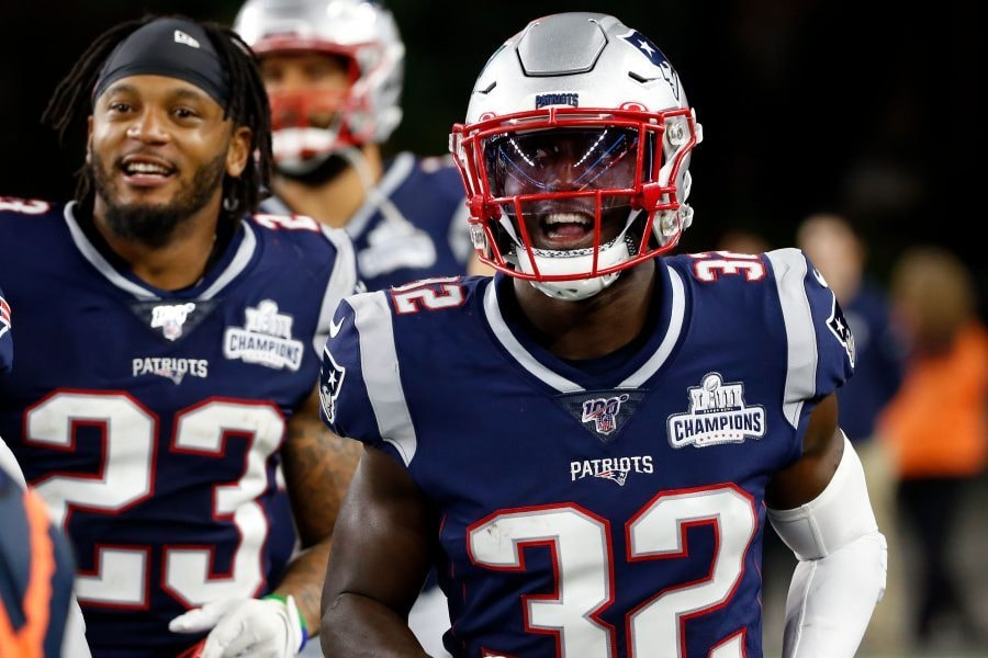 Devin McCourty had an interestingly ice-cold take on his former Patriots teammates who are now on the Dolphins. (Greg M. Cooper-USA TODAY Sports)