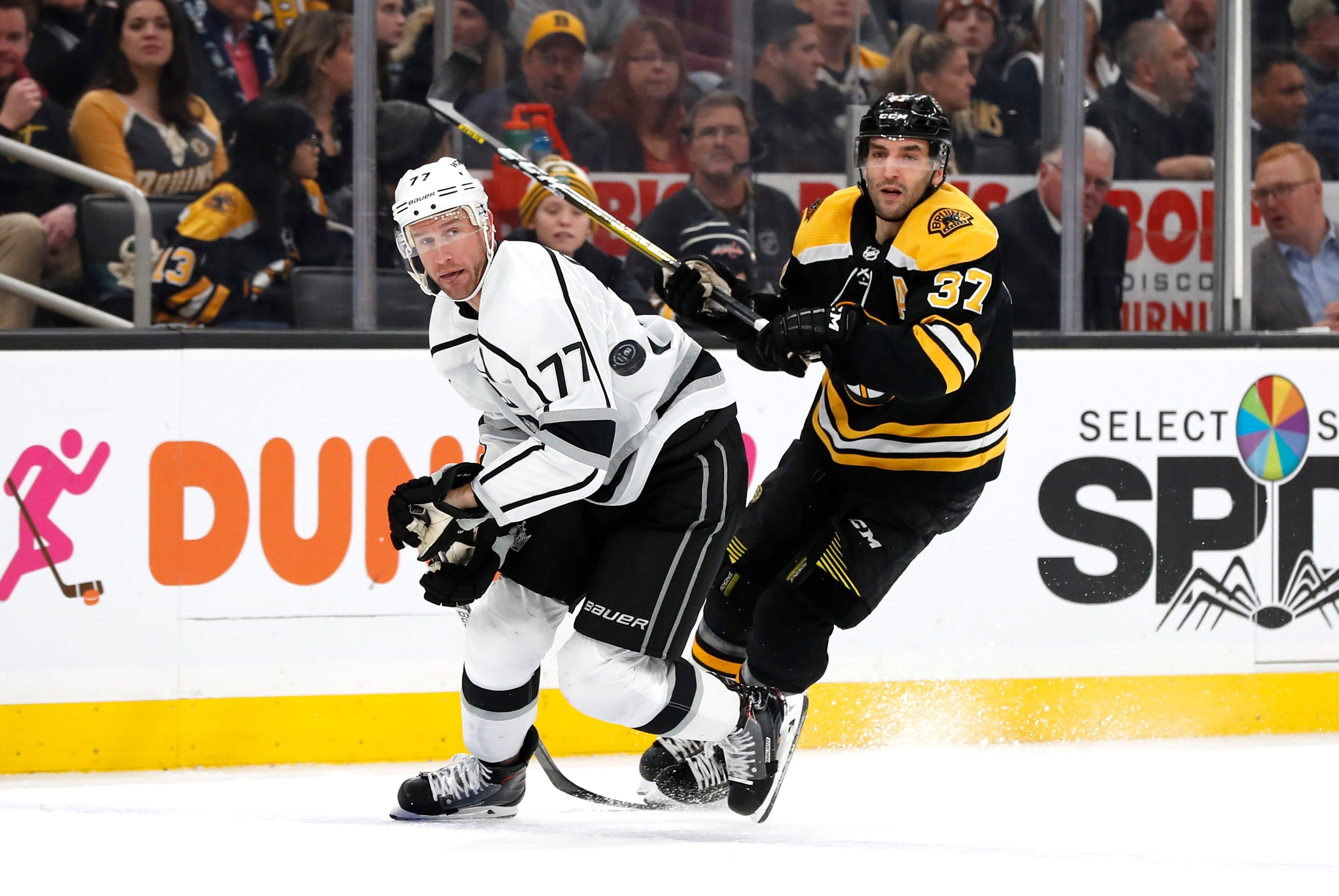 Kopitar scores in OT, Kings beat Bruins 4-3