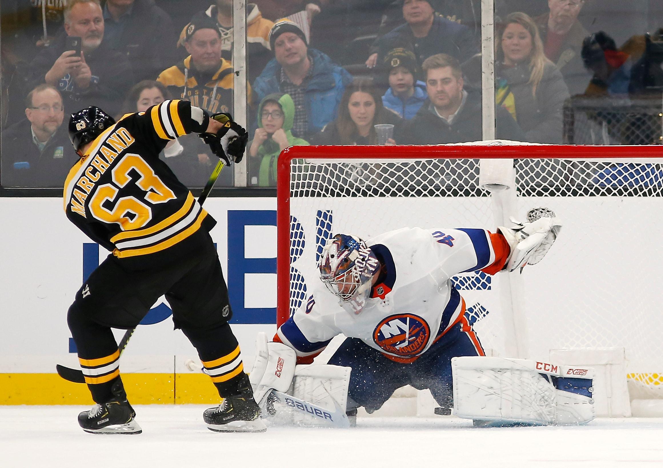 New York Islanders Top Boston Bruins in a Shootout