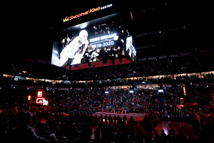 Celtics, Pelicans, pay tribute to Kobe Bryant to start game; New Orleans wins 123-108