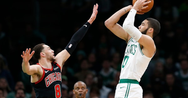 Tatum leads the way with 21 points as Celtics beat Bulls 113-101