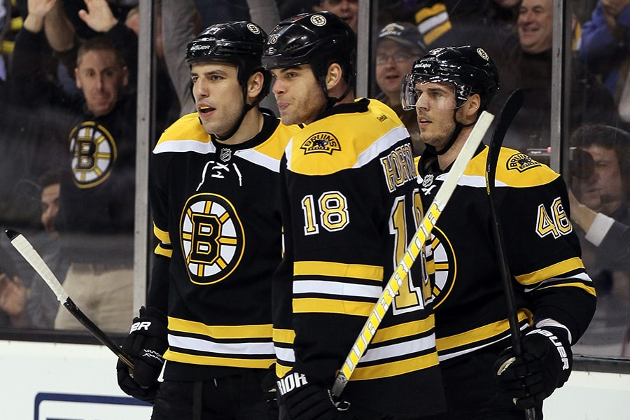 If this photo of Milan Lucic, David Krejci, and Nathan Horton doesn't get you all hot & bothered as a Bruins fan then I don't know what to tell you