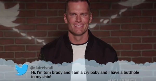 Tom Brady reads mean tweets calling him some pretty offensive things