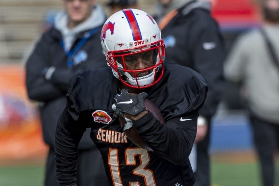 """Who is this wide receiver Patriots scouts are reportedly """"gushing"""" over?"""