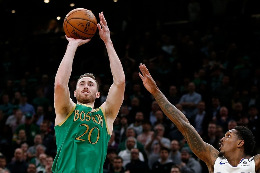 Jayson Tatum dominated, but Gordon Hayward hit the dagger