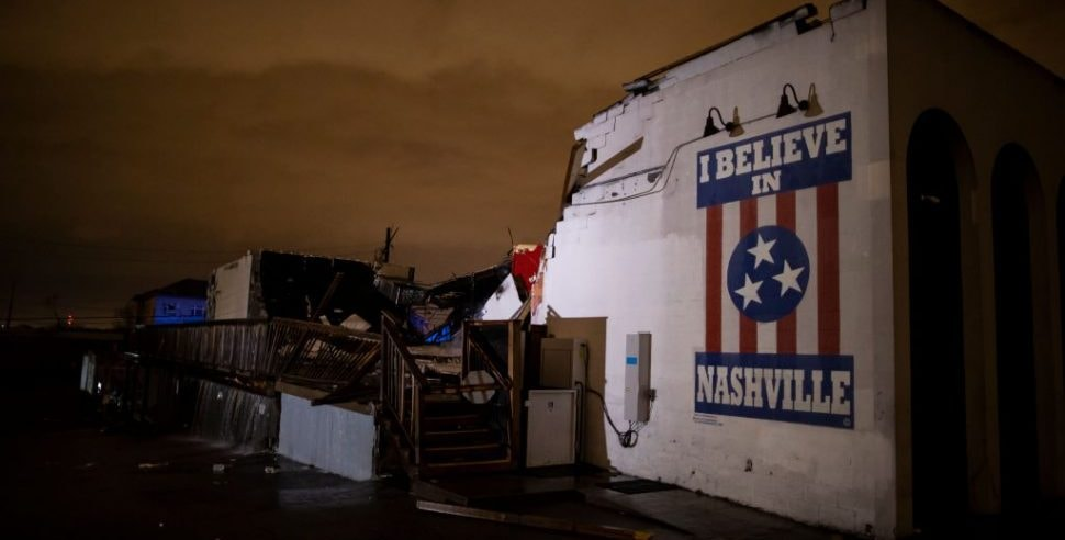 Tornadoes Kill 23 in Tennessee, Trump to Visit Stricken Areas on Friday