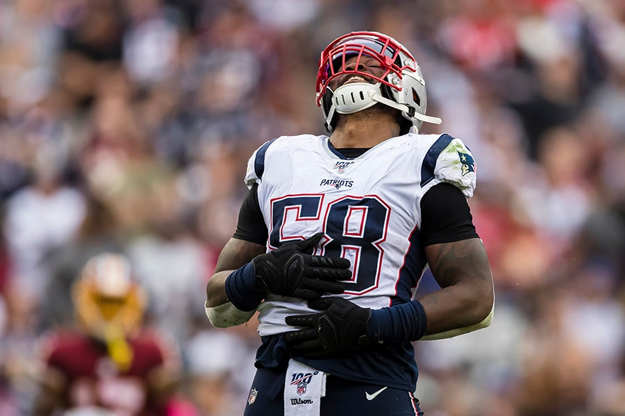 Patriots rumors 2020: Jamie Collins, Lions agree on contract