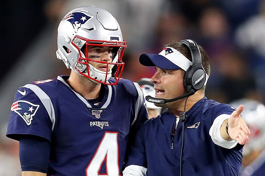 DraftKings has issued a new Patriots 2020 win total. (Photo by Maddie Meyer/Getty Images)