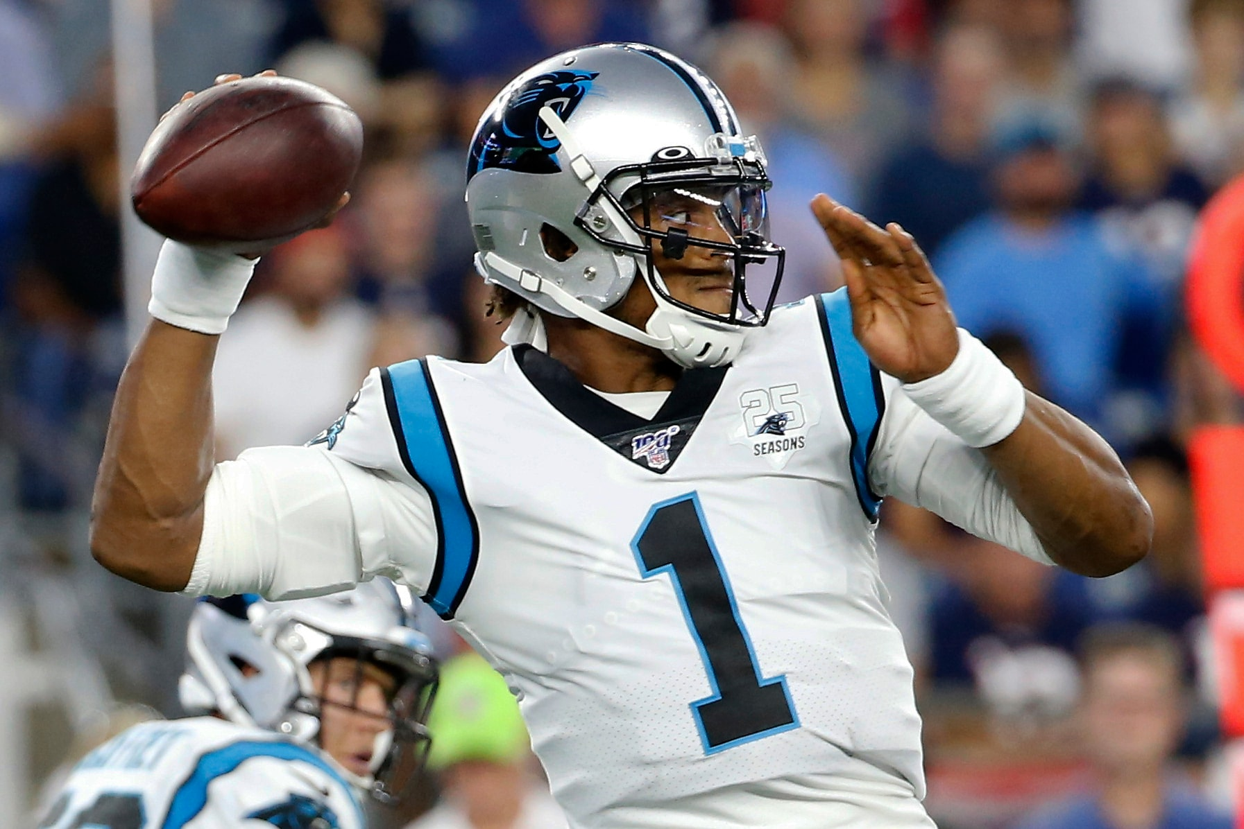 Quarterback Cam Newton returning to NFL