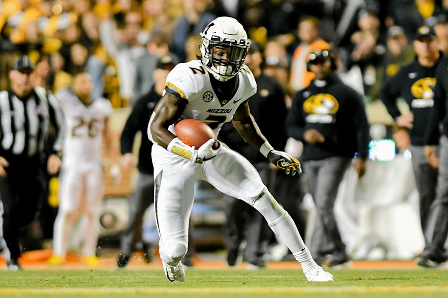 NFL Draft: Missouri safety DeMarkus Acy is a selection on 2020 the Felger & Mazz Big Board. (Randy Sartin-USA TODAY Sports)
