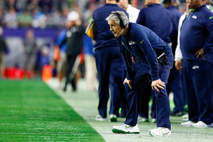 Pete Carroll on Super Bowl XLIX: 'We had to rebuild everybody's brain'