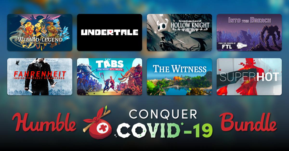 Latest Humble Bundle To Battle COVID-19