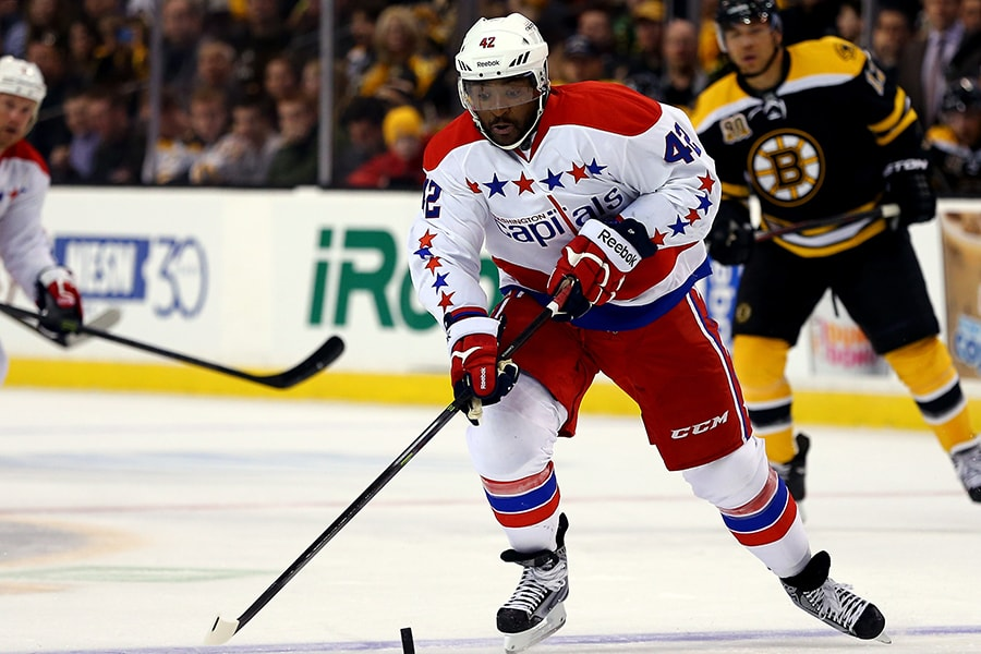 Former UPEI Panther Joel Ward part of newly formed Hockey Diversity Alliance