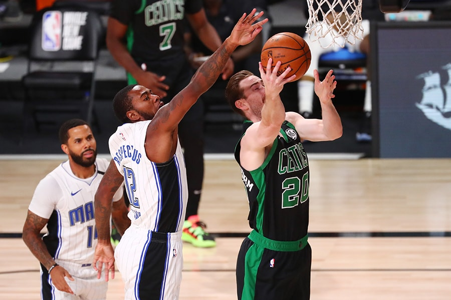 Only Gordon Hayward scored more than Jayson Tatum against the Magic, finishing with 31 points. (Kim Klement-USA TODAY Sports)