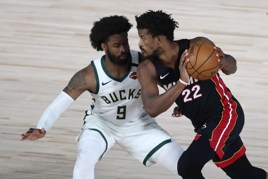 Slowing down Jimmy Butler will be key for the Celtics against the Heat. (Kim Klement-USA TODAY Sports)