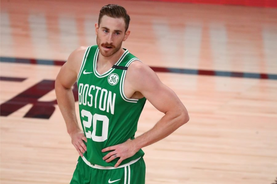 Indianapolis native Gordon Hayward is popping up in trade rumors with the Pacers. (Kim Klement-USA TODAY Sports)