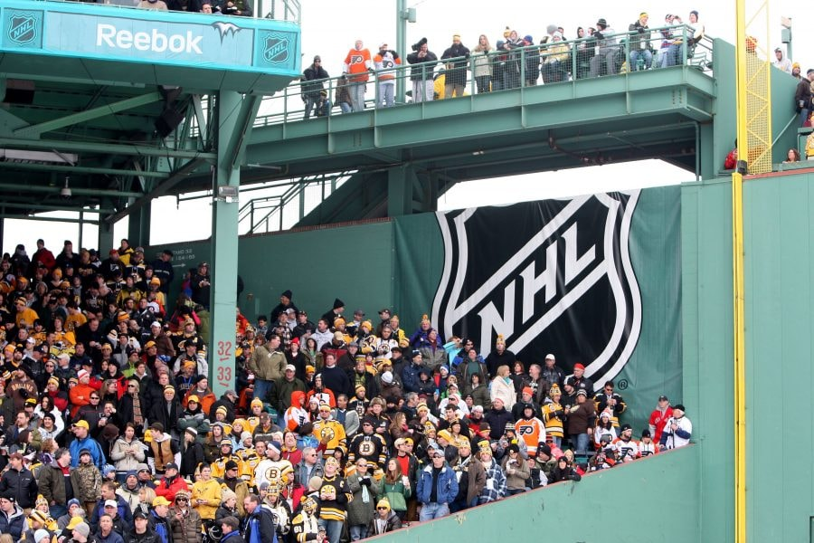 Bruins looking at possibility of playing home games outdoors
