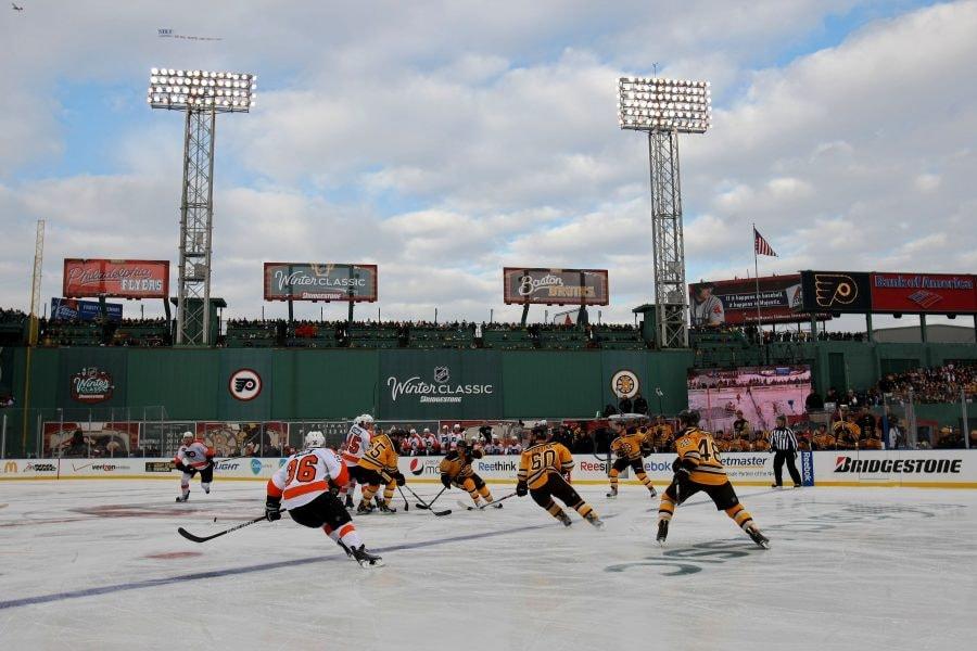 Bruins exploring playing outdoors - possibly at Fenway Park - during upcoming season